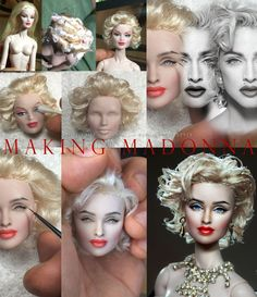 ::||www.ncruz.com::|| MADONNA by Noel Cruz - Looks more like Marilyn than Madonna to me, but it's still gorgeous!