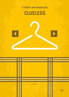 No331 My Clueless minimal movie poster Art Print by Chungkong