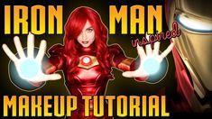 Iron Man Makeup Tutorial: Avengers Cosplay Transformation