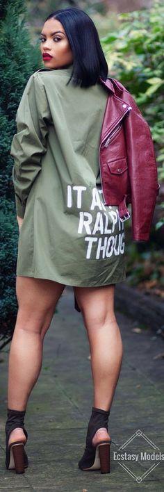 It Ain't Ralph Tough Shirt // Fashion Look by  @alxgaliero