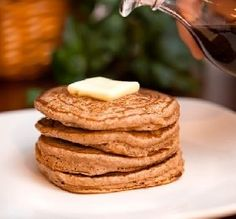 "One-Point Pancakes: ""I didn't think I would be able to eat pancakes after joining Weight Watchers, but these are so delicious and just one point each! I add a little vanilla into the mix, and it tastes wonderful!"" -Aunt Becca aemackab"
