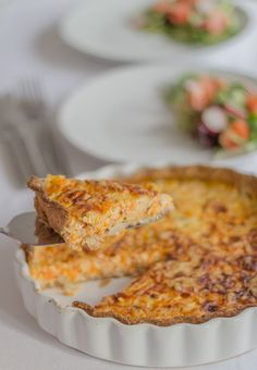 Another low calorie yummy lunch option for you here with my carrot and quark quiche recipe. It's vegetarian, a good source of protein and made with a very thin wholemeal pastry crust. An ideal work lunch too as it can be eaten hot or cold.