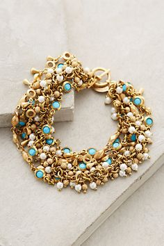 Allamanda Bracelet - anthropologie.com #anthroregistry