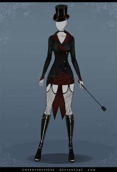 (closed) Auction Adopt - Outfit 546 by CherrysDesigns Cosplay Outfits, Anime Outfits, Cool Outfits, Fashion Outfits, Villain Costumes, Hero Costumes, Clothing Sketches, Dress Sketches, Drawing Anime Clothes