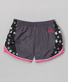 This Gunmetal Make Some Noise Shorts by Soffe is perfect! #zulilyfinds