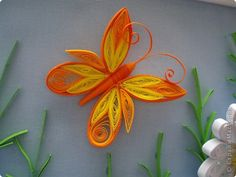 Paper Quilling Tutorial, Paper Quilling Cards, Paper Quilling Jewelry, Paper Quilling Patterns, Quilled Paper Art, Neli Quilling, Quilling Butterfly, Quilling Paper Craft, Quilling Flowers