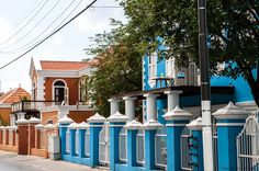 Fixed up homes in Otrabanda Curacao - great pix Suzie!
