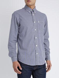 Classic Gingham Check Long Sleeve Shirt  42582c2c03802