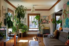 Derek Erdman's Chicago Apartment Is Brimming With Art and Oddities Chicago Apartment, First Apartment, Dream Apartment, Apartment Interior, Apartment Design, Apartment Living, New York Studio Apartment, Cozy Apartment, 80s Interior Design