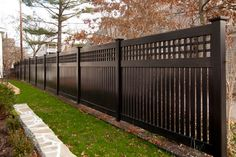 When designing your backyard fence project, a factor to consider is views and restricting light in the garden.