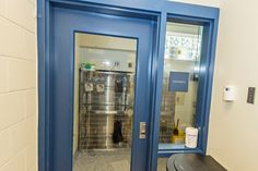 Two separate isolation rooms for concurrent treatment of GI and respiratory problems. The entry utilizes an airlock entrance.