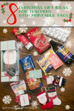 Cheap teacher gift ideas for christmas