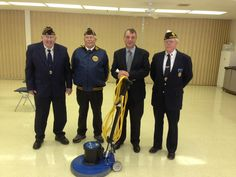 The American Legion Foundation of Iowa came out to Goodwill today to present us with a $1,000 check for the purchase of a floor scrubber also pictured with John Hantla, CEO. The floor scrubber is used by our janitorial services for more information click on the link ----> www.goodwillscia.com Janitorial Services, Floor Cleaning, American Legions, Thing 1, Iowa, Foundation, Flooring, Link, Check