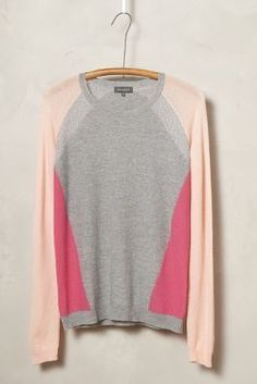 Needles Blocked Cashmere Pullover #anthrofave