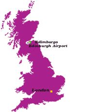 Capital de Escocia y mundialmente conocida por su belleza.