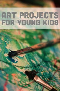 Lots of fun and easy art projects for kids to do