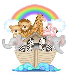 Noah's Ark Free Printables | Details about NOAHS ARK ANIMALS BABY NURSERY KIDS ROOM WALL ART BORDER ...
