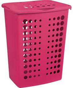 ColourMatch Laundry Hamper - Funky Fuchsia.