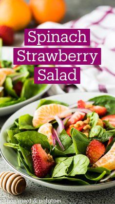 Fresh Salad Recipes, Spinach Salad Recipes, Chicken Salad Recipes, Healthy Salad Recipes, Chicken Avocado Salad, Lettuce Salad Recipes, Avocado Tomato Salad, Fish Salad, Tuna Salad