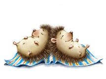 hedgehogs paintings - Google Search