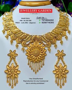 Where Sell Gold Jewelry Info: 5098175505 Chand Bali Earrings Gold, Gold Earrings, Gold Necklaces, Gold Bangles, Gold Jewelry, Jewelery, India Jewelry, Light Weight Gold Jewellery, Pearl Necklace Designs