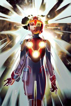 Meet Marvel's Newest NOVA In INFINITY GAUNTLET #2 Variant Cover | Newsarama.com