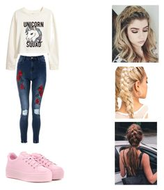 """Untitled #8"" by delianita on Polyvore featuring H&M and Kenzo"