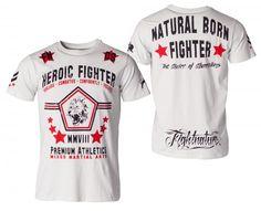 "Fightnature T-Shirt ""Heroic Fighter"" sky"