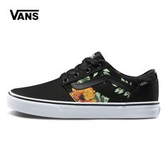 Original Vans Low Top Male Skateboarding Shoes Mens Sport Shoes Canvas  Sneakers Breathable Top Quality Leisure-in Skateboarding from Sports    Entertainment ... dd7d1028ec40