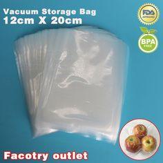 12 cm x 20 cm 25 STÜCKE PE Vakuum Lebensmittel Speichern Storage Taschen Dicht Sealer Verpackungsfolie kaffee sitzsack Hält Frische bis zu 6x mehr