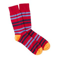 JCrew striped socks