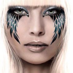 white angel makeup ideas - Google Search