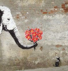 street art fête des meres