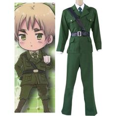 Axis Powers Hetailia England Cosplay Costume For Sale