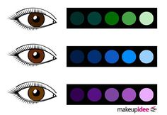 Colors that go well with brown eyes