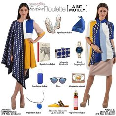 This weeks fashion roulette features Esmod Dubai 2017 graduate and Creator Pattern Making AwardWinner Altynai S. @aurea.lunaa from Kazakhstan. Her collection A Bit Motley combines a kaleidoscope of colourstextures and shapes to create feminine silhouettes. Highlight these looks with a few elegant andtrendy items.Stop by@polette.dubaiin@citywalkdubaiformore. - @manoloblahnikhq @karllagerfeld @dior @malonesouliers - #ddfc_org #d3dubai #esmoddubai #dubaifashion #fashionblogger #stylist…