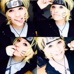 Dattebayo! :3 . . . #cosplay #cosplayer #naruto #narutouzumaki #uzumaki #narutoshippuden #wig #konoha #casualcosplay #cosplaycasual #crossplay #makeup #cosplaymakeup #lenses #narutocosplay #anime #manga #ninja #cintaninja