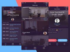 Schedule App (iOS Concept) by EL Passion