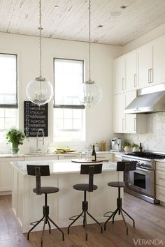 Kitchen Decor Ideas - Best Kitchen Decorating Tips and Designs - Veranda