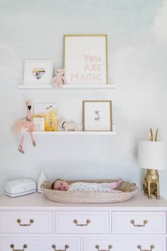 Home Tour Series: Annie's Dreamy Nursery - Nursery Inspiration, Nursery Room, Girl Nursery, Girl Room, Kids Bedroom, Nursery Decor, Room Decor, Room For Baby Girl, Nursery Ideas, Baby Room