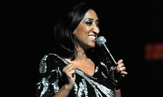 Shazia Mirza performing in 2011