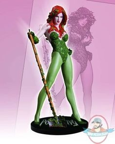 DC Direct Cover Girls of the DC Universe: Poison Ivy Statue by Diamond Comic Distributors <--- stuff like this makes me wish I were a comic nerd! Dc Poison Ivy, Rachel Summers, Diamond Comics, Poison Ivy Costumes, Comic Art Community, Batman, Movie Characters, Comic Covers, Dc Universe