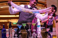 Enjoy a colorful concoction made especially for you.