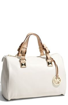 is it wrong to buy a bag b/c it has the same name as your son?  ;)     MICHAEL Michael Kors 'Grayson' Leather Satchel