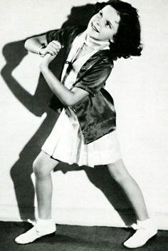Little Judy Garland 1929 #vintage
