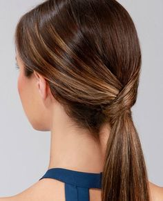 The 10 Best 5-Minute Hairstyles That Keep Hair Out of Your Face via Brit + Co