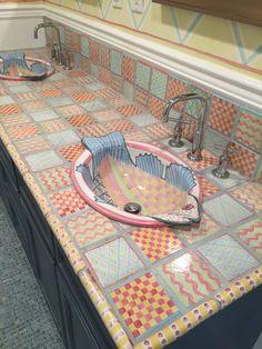The french tangerine mackenzie childs pinterest for Mackenzie childs fish rug