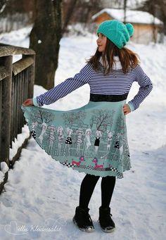 Schnittmuster Winterhude für Mädchen und für Frauen | Pech & Schwefel | Bloglovin'