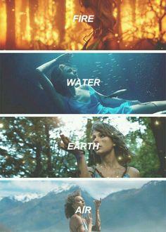 fire water earth air