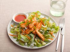 Buffalo Chicken Salad Recipe : Ellie Krieger : Food Network - FoodNetwork.com